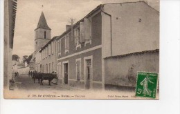 17 Ile D'Oléron Dolus Une Rue Avec Vaches - Ile D'Oléron
