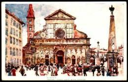 Firenze - Chiesa E Piazza Santa Maria Novella - Medici Society - Firenze
