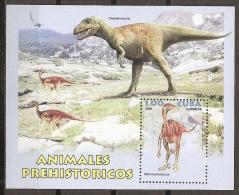 ANIMALES PREHISTORICOS - CUBA 2006 - Yvert #H210 - MNH ** - Prehistorics