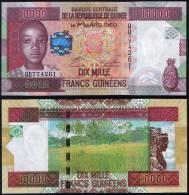 Guinea P 46 - 10000 10.000 Francs 2012 - UNC - Guinea