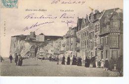 Cpa Mers Les Bains (80) , Vue Générale , Animé - Mers Les Bains