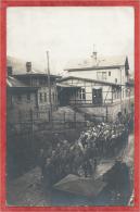 68 - SAINTE MARIE Aux MINES - Carte Photo - Gare - Bahnhof - Défilé Du Land. Inf. Regt. 80 - Soldats Allemands - Sainte-Marie-aux-Mines
