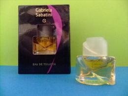 MINIATURE  EAU DE TOILETTE -- GABRIELA SABATINI  --  USA  -- 16 Fl Oz 4.9 Ml      ECHANTILLON DE COLLECTION - Miniaturas Mujer (en Caja)