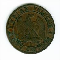 Frankreich 5 Centimes 1853 A  #m145