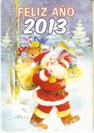 CALENDARIO DEL AÑO 2013 DE PAPA NOEL (NAVIDAD-CHRISTMAS) (CALENDRIER-CALENDAR) - Calendarios