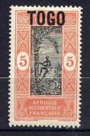 TOGO - N° 104(*) - PALMISTE - Togo (1914-1960)