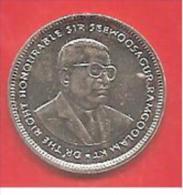 MAURITIUS - 1999 - COIN MONETA - 20 Centesimi RUPIA RUPEES - CONDIZIONI UNC - Mauritius