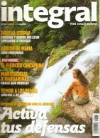 REVISTAS DE INTEGRAL TEMAS DE VIDA SANA A 1 EURO CADA UNA (ECOLOGIA) - Revistas & Periódicos