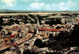 CPSM  MONDRAGON         Le Village Et Ses Environs  Vu Du Ciel - France