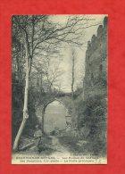 * BEAUVOIR EN ROYANS-Les Ruines Du Château Des Dauphins,XIIIè Siècle. La Porte Principale(Homme Assez Bien Habillé) - Pont-en-Royans