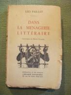 Ménagerie Littéraire Paillet 1925 Caricature De Roger Chancel Dédicacé écrivain - Biographie