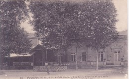 58 POUGUES-les-EAUX, La Café Glacier, Les Petits Chevaux Et Le Casino - Pougues Les Eaux