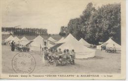 Camp De Coeur Vaillants De Malzeville Près Nancy  Scoutisme - Longwy