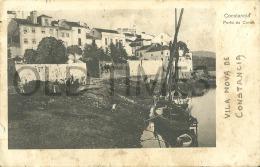 PORTUGAL - CONSTANCIA - PORTO DA COVA - 1910 PC. - Santarem
