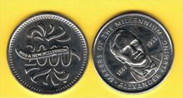 FICHAS - MEDALLAS // Token - Medal -  Alexander Fleming - Milienium - Professionals/Firms