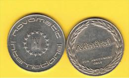 FICHAS - MEDALLAS // Token - Medal -  NOVOMATIC - Juegos Recreativos - Professionals/Firms