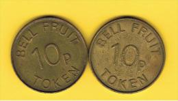 FICHAS - MEDALLAS // Token - Medal - 10 Pence  Token Gran Bretaña - Monetary/Of Necessity