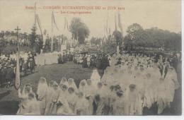 Nancy  21 Juin 1914 Congrès Eucharistique - Luneville