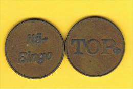 FICHAS - MEDALLAS // Token - Medal - TOP BINGO Token - Monetary/Of Necessity