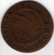 HAITI - 1 Centimes 1830 - AN 28 - Haïti