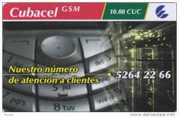 Cuba, Cubacel GSM, Controlnumber Up, 2 Scans . - Cuba