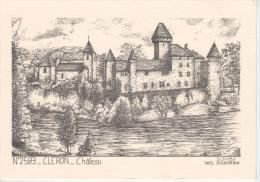 CLERON : Château - France