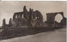 Carte Postale Photo Militaire Allemand  MESSINES-MESEN (Belgique)  Eglise En Ruine-VOIR 2 SCANS - - Messines - Mesen