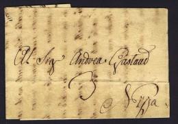 1788  Lettera Da Carmagnola Per Nizza - 1. ...-1850 Vorphilatelie
