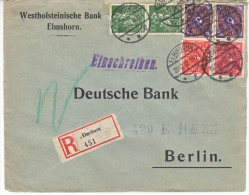 Germany Inflation Registered  Cover - Germany