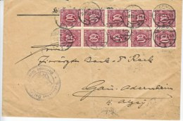 Germany Inflation Registered  Official  Cover - Germany