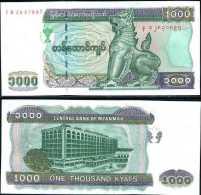 MYANMAR, BURMA, 1000 KYATS, 2004, P 80, UNC ! - Myanmar