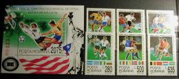RUMANIA 1994 - WORLD CUP FOOTBALL USA'94 - YVERT 4170-4175 + BLOCK 236 - World Cup