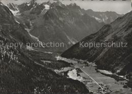 St15238 Bergell Casaccia Und Loebbia Mit Albigna Und Bergeller Alpen Kat. Soglio - GR Grisons