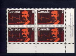CANADA. 1973. #612, ROYAL CANADIAN MOUNTED POLICE:  Commissionner G.A. French & Map  LR  MNH - Blocs-feuillets