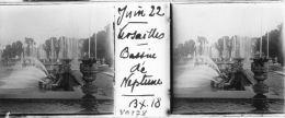 V0178 - YVELINES - VERSAILLES - Bassin De Neptune - Plaques De Verre