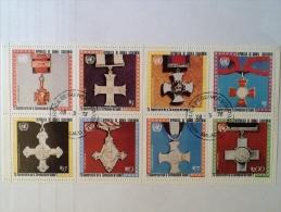 Guinée équatorial Guinea Ecuatorial  25 Eme Anniversaire Croix Médaille Cross Anniversary Block - Guinée Equatoriale