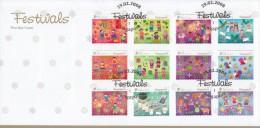 Singapore Stamp FDC: 2008 Festivals SG122817 - Singapore (1959-...)