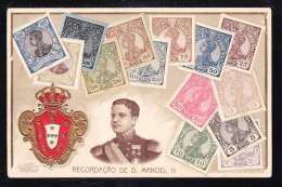 PT1-81 RECORDACAO DE D. MANOEL II STAMPS - Lisboa