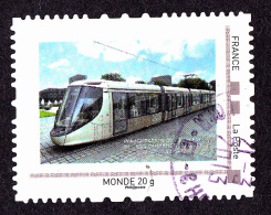 """Montimbramoi, MONDE  20gr """"Inauguration Du Tramway..."""" Used - France"""