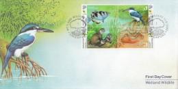 Singapore Stamp FDC: 2000 Wetland Wildlife SG122807 - Singapore (1959-...)