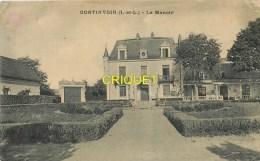 Cpa 37 Continvoir, Le Manoir, Voir Mobilier De Jardin - Frankreich