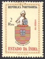 Portuguese India, 2 R. 1958, Sc # 560, Mi # 525, MH - Portuguese India