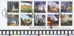 Singapore Stamp FDC: 2008 Singapore Today SG122796 - Singapore (1959-...)