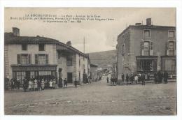 La Roche-Vineuse - La Place - Avenue De La Gare - Route De Cenves - Otros Municipios