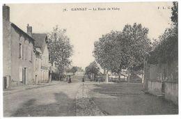 GANNAT (Allier) Environs De Vichy - La Route De Vichy - N°76 - Animée - Vichy