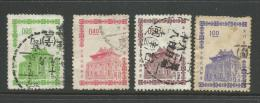 1964 Chu Kwang Tower Quemoy Part Set Of 4 Used SG 491,494,495 & 497  In SG  2011 China Cat  Great Stamps - 1945-... Republic Of China