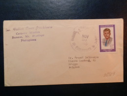 35/319  LETTRE   PILIPINAS - Kennedy (John F.)