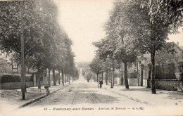 92 Fontenay Aux Roses Avenue De Sceaux Animée - Fontenay Aux Roses