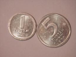 1,5 New Agorot 1980 - Israel