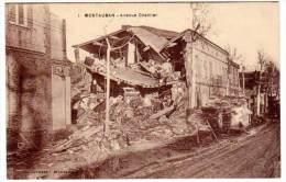 Montauban - Avenue Chamier (inondations) - Montauban